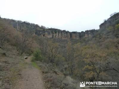 Monasterio de Bonaval - Cañón del Jarama - Senderismo Guadalajara; senderismo en almeria